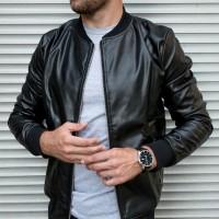 Кожаная куртка Zirano Basic
