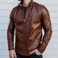 Кожаная куртка React Art.1190