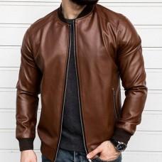 Кожаная куртка React Art.3770