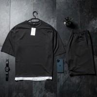 Летний комплект футболка + шорты Oversize Grafit FS
