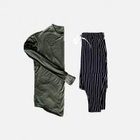 Комплект лонгслив + брюки Iceberg Khaki Stripe