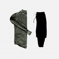 Комплект лонгслив + брюки Iceberg Khaki Black