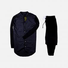 Комплект рубашка + брюки Cold Ice All Black