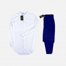 Комплект рубашка + брюки Cold Ice White Navy