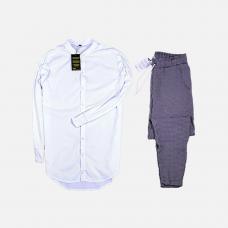 Комплект рубашка + брюки Cold Ice White Points