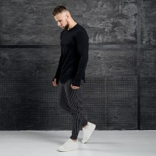 Комплект лонгслив + брюки Iceberg Black Stripe