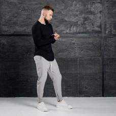 Комплект лонгслив + брюки Iceberg Black Gray