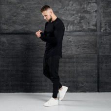 Комплект лонгслив + брюки Iceberg All Black