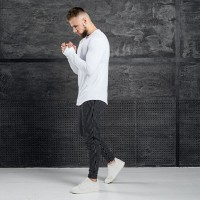 Комплект лонгслив + брюки Iceberg White Stripe