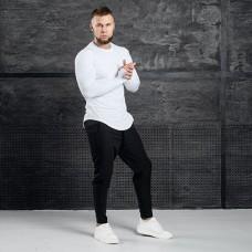 Комплект лонгслив + брюки Iceberg White Black