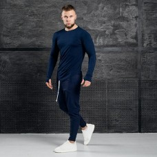 Комплект лонгслив + брюки Iceberg All Navy