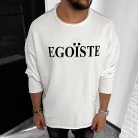 Свитшот Black Island EGOISTE White